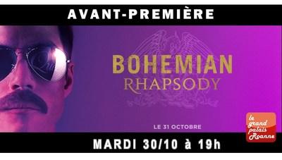 AVANT-PREMIÈRE BOHEMIAN RHAPSODY / MARDI 30 OCT.
