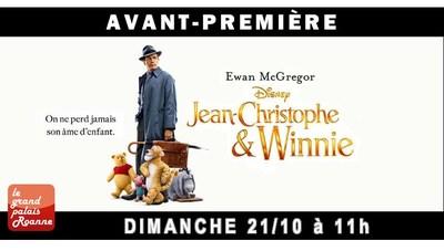 AVANT-PREMIÈRE JEAN-CHRISTOPHE & WINNIE / DIM. 21 OCT.