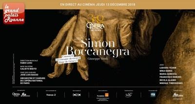 SIMON BOCCANEGRA - JEUDI 13  DEC - 19H30